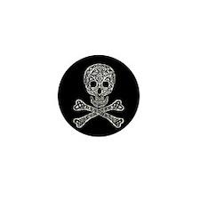 Celtic Skull and Crossbones Mini Button (100 pack)