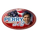 Unique  perry for president Decal