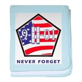 NEVER Forget - baby blanket