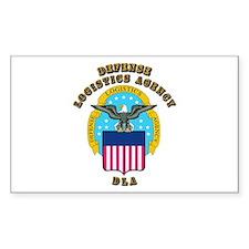 Emblem - Defense Logistics Agency Decal