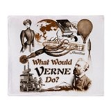 What Would Verne Do? Throw Blanket