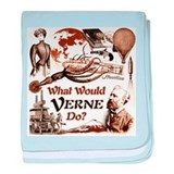 What Would Verne Do? baby blanket