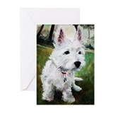 Westie Puppy Dog Greeting Cards (Pk of 10)