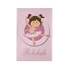 Cute Ballerina Ballet Gifts Rectangle Magnet
