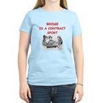 Duplicate bridge Women's Light T-Shirt
