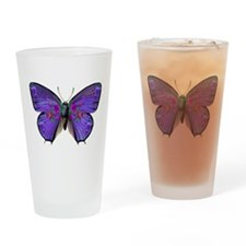 Persephone's Butterfly Drinking Glass
