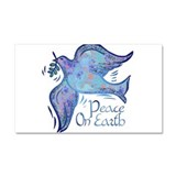 Dove of Peace Car Magnet 20 x 12