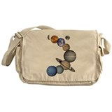 Planet Swirl Messenger Bag