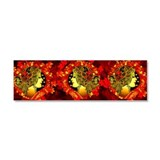 Autumn's Entrance Car Magnet 10 x 3