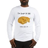 Ginger Cat Long Sleeve T-Shirt