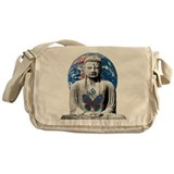Buddha Awaits Messenger Bag