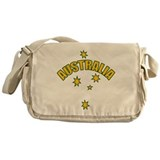 Australia Southern cross star Messenger Bag