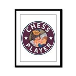 Chess Framed Panel Print