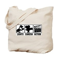 Funny Camera film Tote Bag