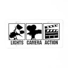 Unique Filmmaking Aluminum License Plate