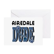 Airedale DUDE Greeting Card