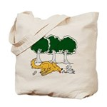 Chasing Squirrel Tote Bag