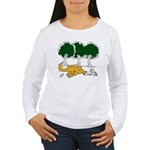 Chasing Squirrel Women's Long Sleeve T-Shirt