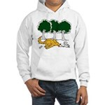 Chasing Squirrel Hooded Sweatshirt