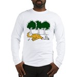 Chasing Squirrel Long Sleeve T-Shirt