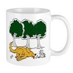 Chasing Squirrel Mug