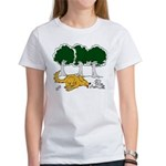 Chasing Squirrel Women's T-Shirt