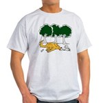Chasing Squirrel Light T-Shirt