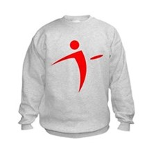 Nano Disc Golf RED Logo Sweatshirt