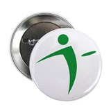 "Logo - Green 2.25"" Button"