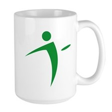 Nano Disc Golf GREEN Logo Mug