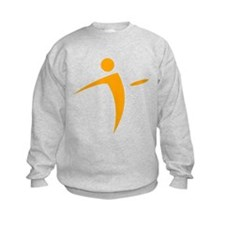 Nano Disc Golf ORANGE Logo Sweatshirt