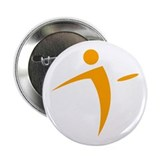 "Logo - Orange 2.25"" Button"