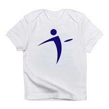 Nano Disc Golf BLUE Logo Infant T-Shirt