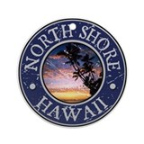 North Shore, Hawaii Ornament (Round)