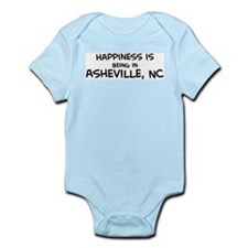Happiness is Asheville Infant Creeper