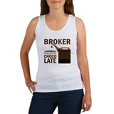 Broker Chocoholic Gift Women's Tank Top