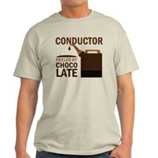 Conductor Chocoholic Gift T-Shirt