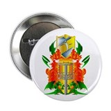 "Color Disc Golf Coat of Arms 2.25"" Button"
