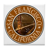 San Francisco, California Tile Coaster