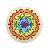 The Solar Plexus Mandala Ornament Rnd