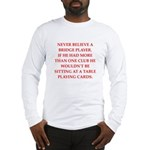 Duplicate bridge Long Sleeve T-Shirt