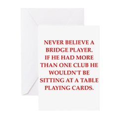 Duplicate bridge Greeting Cards (Pk of 20)