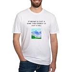 Duplicate bridge Fitted T-Shirt