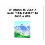 Duplicate bridge Small Poster