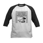 Duplicate bridge Kids Baseball Jersey