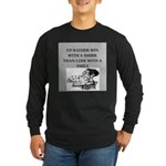 Duplicate bridge Long Sleeve Dark T-Shirt
