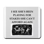 Duplicate bridge Mousepad