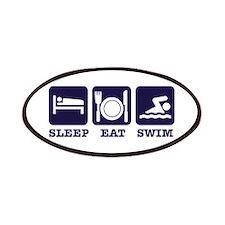 Sleep eat swim Patches