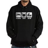 Sleep eat row Hoody