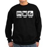 Sleep eat row Sweatshirt